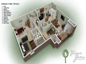 3 bed 2 bath floor plans 3 bedroom 2 bath floor plans waterfaucets