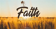 Bible Verses about Faith You Should Know