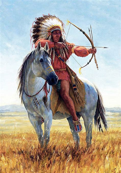 native horse indian american print headdress warrior chief tribal canvas quality horses indians a3 a4 painting paintings prints riding tattoos