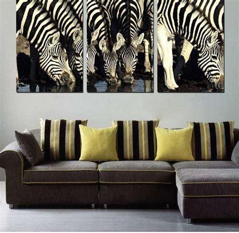 Awesome Zebra Home Decor Wall Painting  Home Decor Ideas