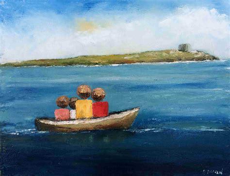 Boat Trip Calculator by Boat Trip To Dalkey Island By Padraig Mccaul Irish Art