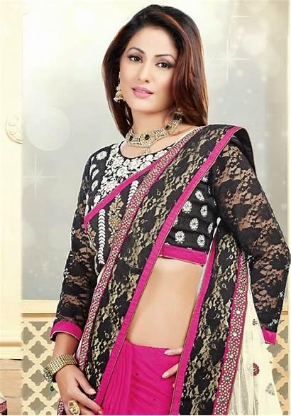 Hina Khan Actress Wallpapers Saree Heena Latest