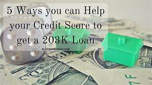 5 Ways you can Help your Credit Score to get a 203K Loan  onerror=