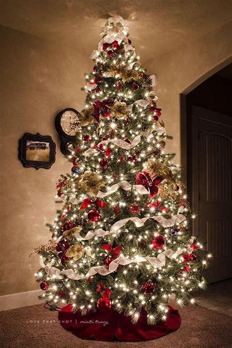 most beautiful christmas tree decorations ideas