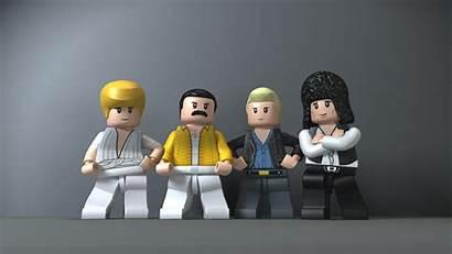 Lego Queen Brian Freddie John Mercury Roger