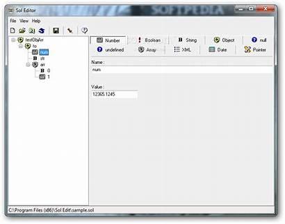 Editor Sol Screenshot