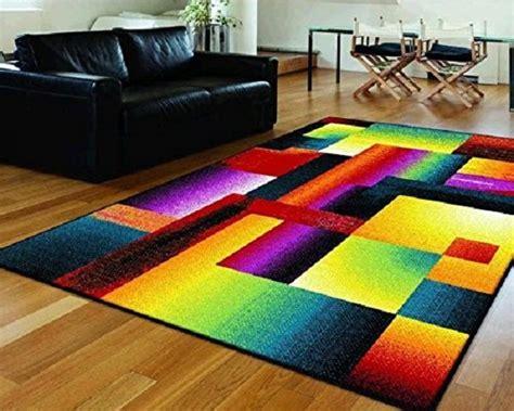 bright multi colored area rugs a bright multi colored area rug funky area rugs