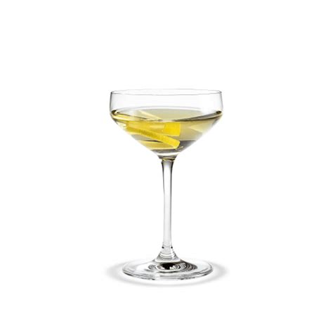 Perfection Martini glass