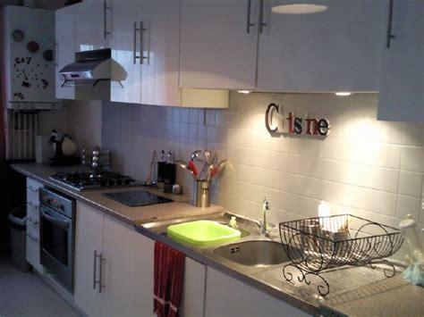 spot dans cuisine cuisine photo 1 4 vue avec spot