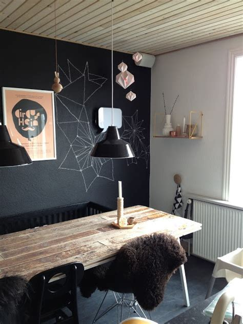 31 Chalkboard Dining Room Décor Ideas You?ll Love   DigsDigs