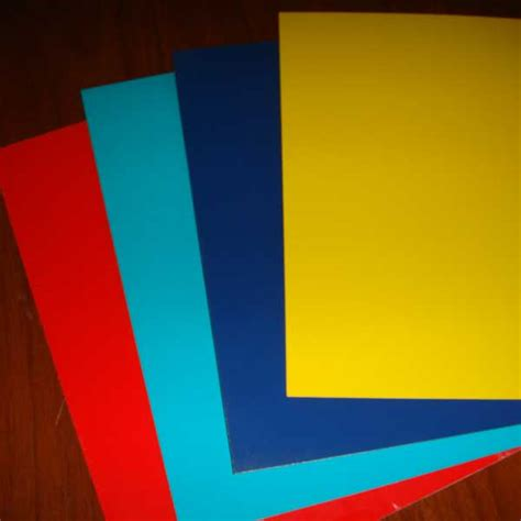 pvdf color coated aluminum sheet pvdf aluminum sheet
