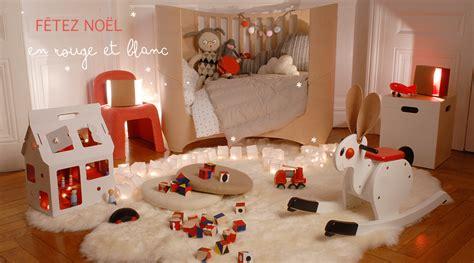 decoration chambre d enfants un design unique avec une déco de noël originale pour vos