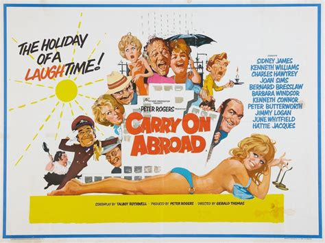 Carry on Abroad 1972 | Film posters vintage, Film posters ...
