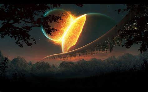 outer space hd desktop wallpaper high definition