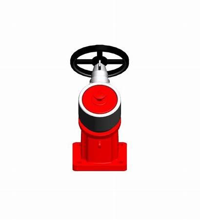 Hose Fire Nozzle Clipart Fireman Transparent Vehicle