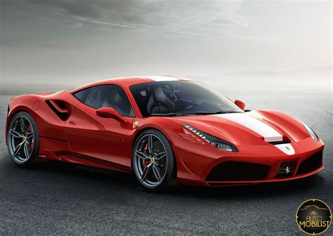 2018 Ferrari 488 Gtb Speciale Rendered  Front Photo, Size