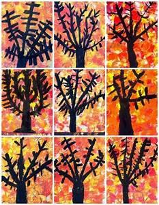 Bricolage Automne Primaire : arbres d 39 automne arts visuels cycle 2 pinterest automne bricolage automne et maternelle ~ Dode.kayakingforconservation.com Idées de Décoration