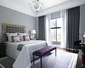 Gray and Purple Bedrooms - Panda's House