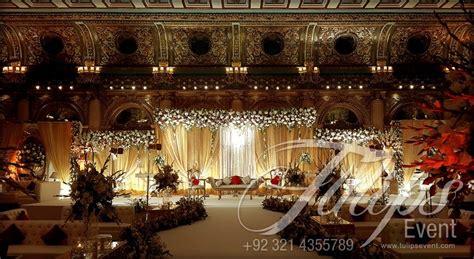 Grand Wedding Decorations - grand walima stage decor ideas in pakistan