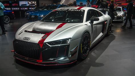 audi race car audi sport 39 s new gt4 race car was star of its ny