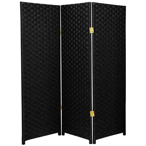 black room dividers home decorators collection 5 83 ft black 4 panel room divider r591 4 the home depot