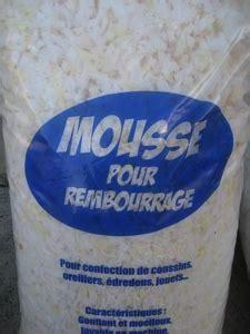 mousse de rembourrage mousse de rembourrage en sac ouate kapok mercerie en ligne durand avignon