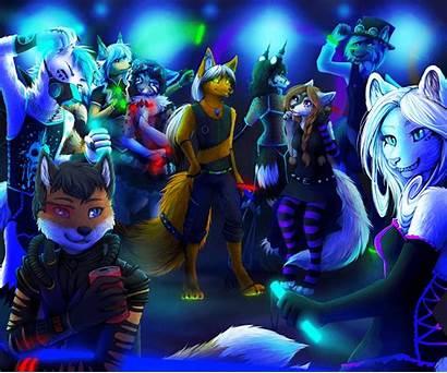 Rave Furry Goth Wallpapers Neko Furries Deviantart
