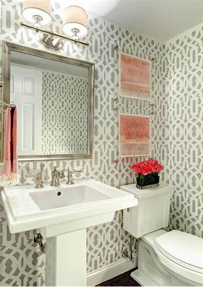 Powder Patterned Rooms Modern Contemporary Sleek Unique