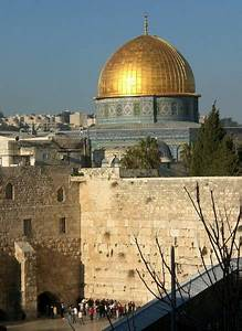 The Dome of the Rock and the Western Wall | Photo