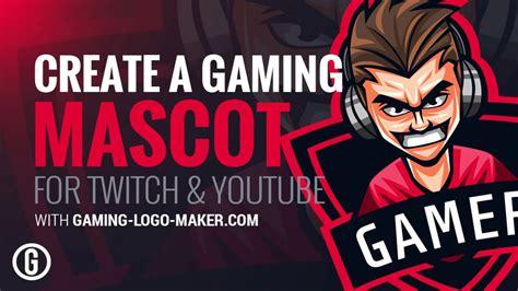Erstelle Dein Gaming Logo Maskottchen Für Twitch Und