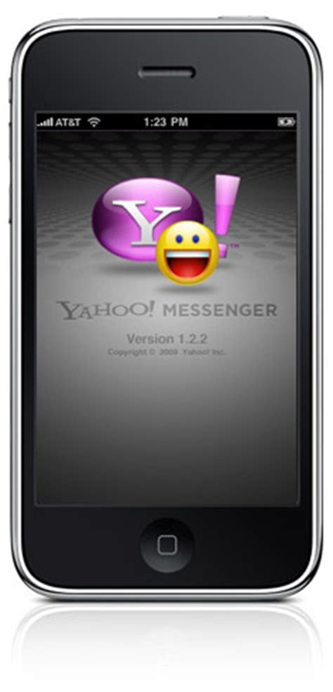 yahoo messenger for iphone updated yahoo messenger for iphone bigblueball