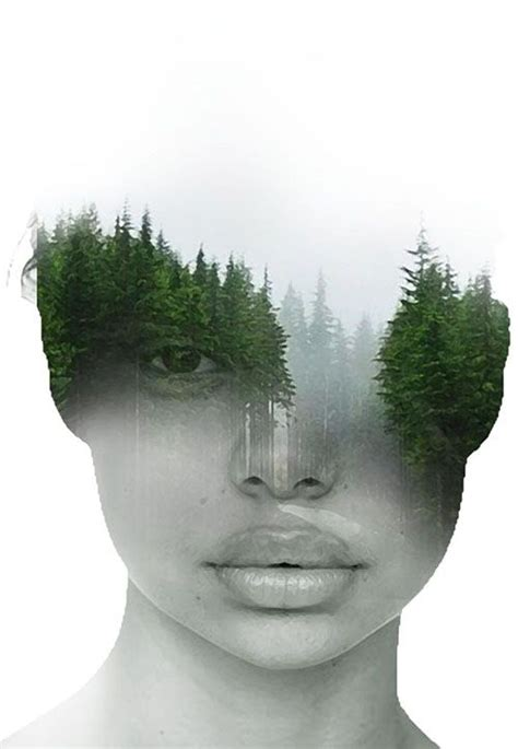 Surreal Portraits Blend Mystical Landscapes With Reality