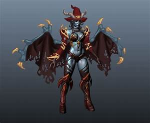 [Dota2] - Queen of Pain - Scarlet Witch — polycount