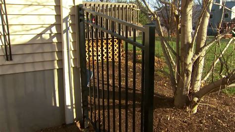 decorative metal fence installation tips installing posts and panels