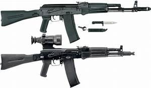 Variant Kalashnikov AK-100 Assault Rifle Series ...