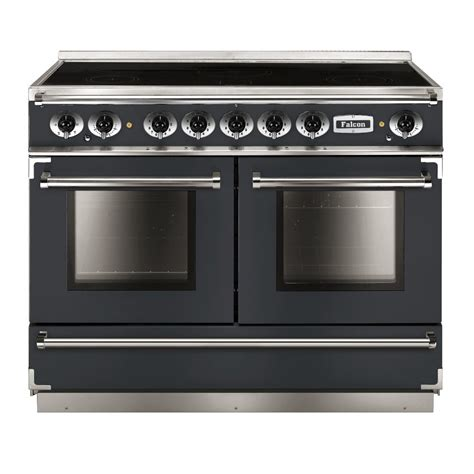 falcon range cooker falcon range cookers 1092 continental induction range cooker fcon1092eisl n eu slate with