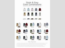 For Guys A Quick Easy Color Combination Guide For Men's