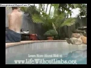 nick vujicic no arms no legs no worries-swimming - YouTube