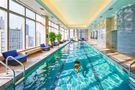 nyc hotels  swimming pools