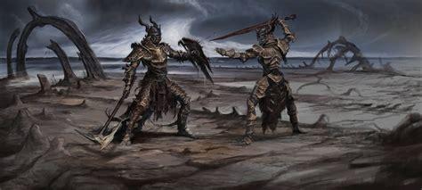 The Elder Scrolls V Skyrim Concept Art Outright War Weapon