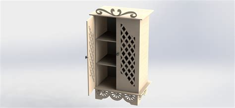 Provencal Cabinet Files For Cnc Router And Laser Cutting