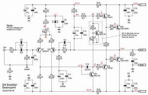 Dx Amplifier Schematic