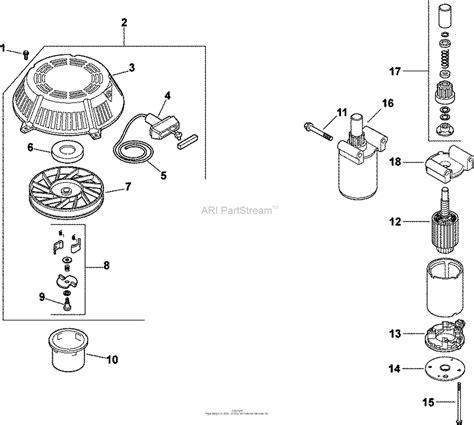 kohler cv  snapper  hp parts diagram  starting