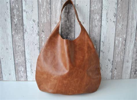 Ledertaschen   Leder Beutel Tasche für Damen braun Beutel