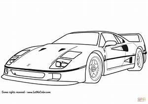 Disegni Da Colorare Macchine Ferrari  U2022 Colorare Best