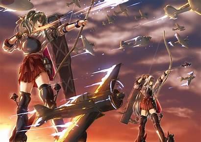 Kantai Anime Kancolle Zuikaku Shoukaku Wallpapers Weapons