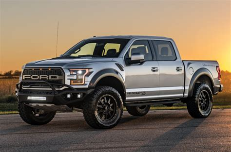 ford raptor   pick  truck hennessey