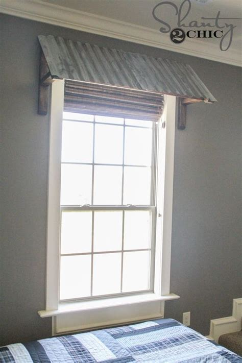 diy corrugated metal awning home metal awnings  windows home decor