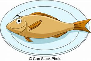 Fish Plate Clipart