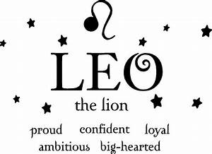 Fun Leo Astrolo... Lion Sign Quotes